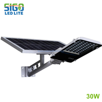 All in two Solar light 30W easy installation high illumination for main road