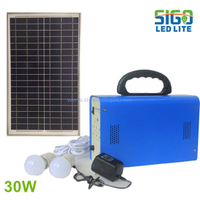 Solar home light system 30W