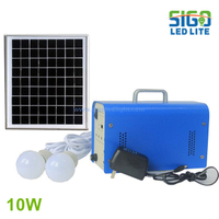 Solar home light system 10W