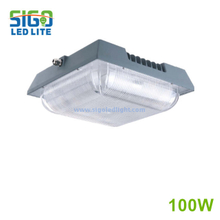 GGC series LED gasoline canopy light 100W
