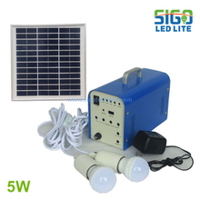 Solar home light system 5W
