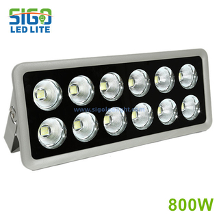 High quality LED flood light 800W for suqare school football field wholesale