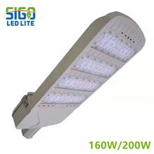 LED street light 160W/200W with Integrated die casting modular housing design and IP66 waterproof ability